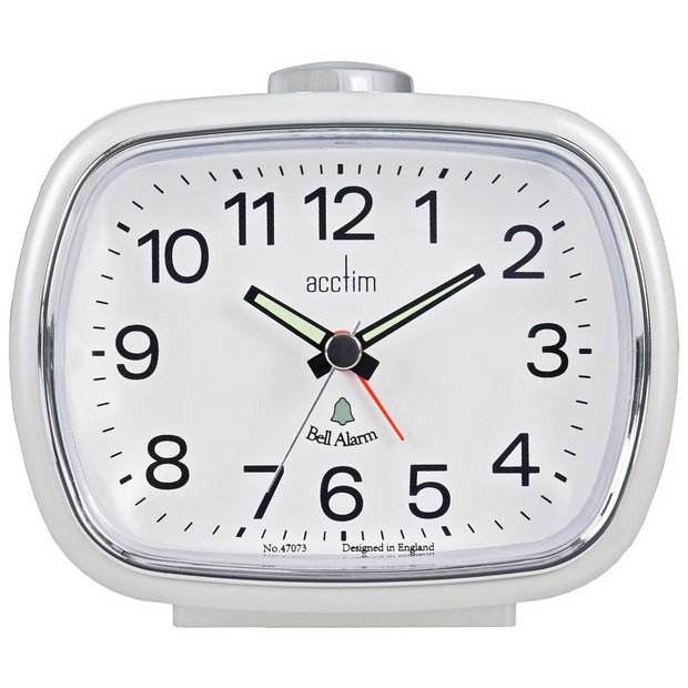 buy acctim camille bell alarm clock at your online shop for clocks home. Black Bedroom Furniture Sets. Home Design Ideas