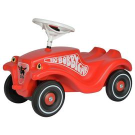 Smoby Big Bobby Classic Car Ride On - Red