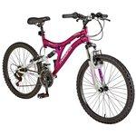 more details on Muddyfox Phoenix 24 Inch Dual Suspension Bike