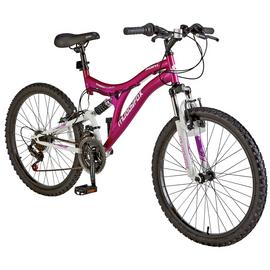 Muddyfox Phoenix 24 Inch Dual Suspension Bike