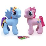 more details on My Little Pony Scribble Me Large 30cm Soft Toy Assortment.