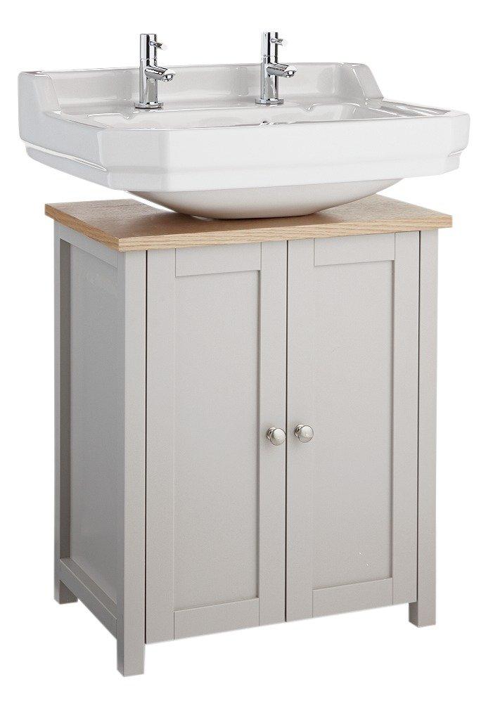 washroom furniture. heart of house livingston undersink storage grey u0026 pine washroom furniture
