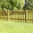 more details on Forest 0.9m Pale Fence Panel - Pack of 6.