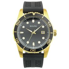 results for mens sports watches bulova men s gold plated chronograph sports watch