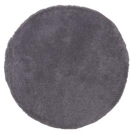 Argos Home Snuggle Shaggy Circle Rug - 100cm - Flint Grey