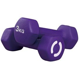 Opti Neoprene Dumbbell Set - 2 x 3kg