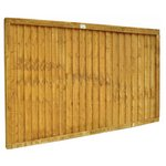 more details on Forest 0.9m Larchlap Closeboard Fence Panel - Pack of 7.