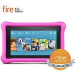 more details on Amazon Fire 7 Inch 16GB Kids Edition Tablet - Pink.