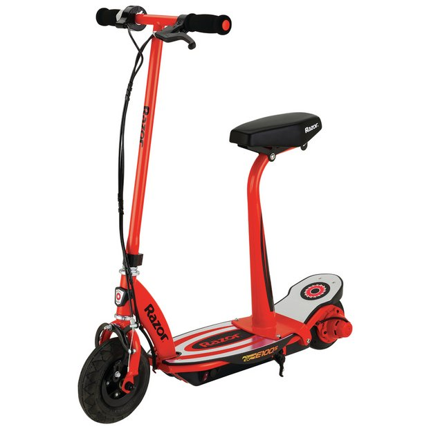 buy razor power core e100s electric scooter red. Black Bedroom Furniture Sets. Home Design Ideas