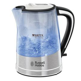 Russell Hobbs 22851 Purity Brita Filter Clear Plastic Kettle