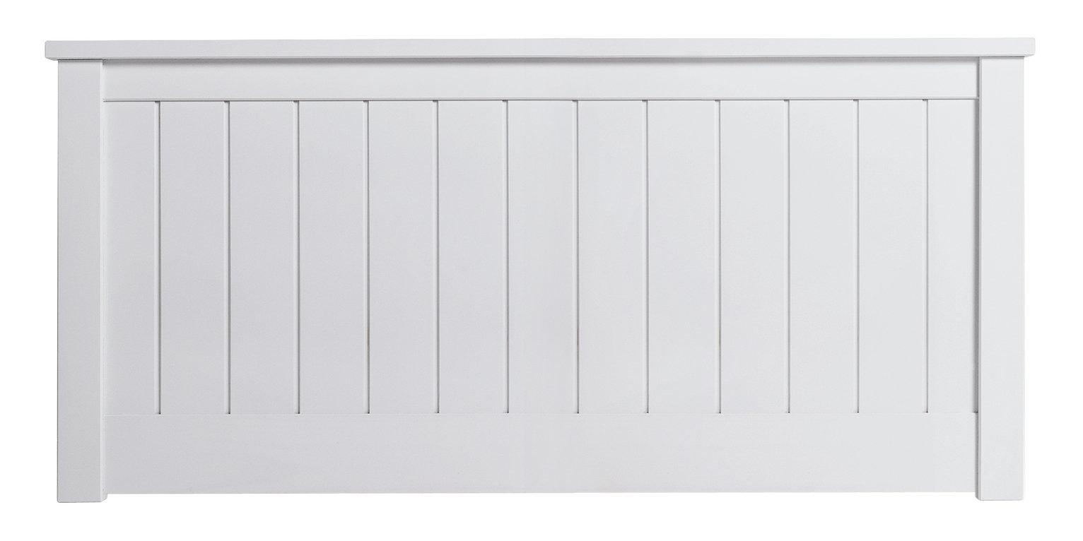 grafton small double headboard white