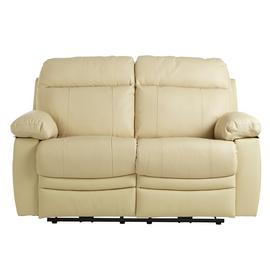 Argos Home Paolo 2 Seater Power Recliner Sofa - Ivory