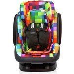 more details on Cosatto Hug Group 1-2-3 Car Seat with Isofix - Pixelate.