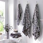 more details on HOME Damask 6 Piece Towel Bale - Grey.