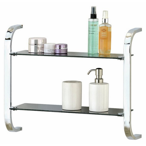 31 simple bathroom shelves argos for Bathroom accessories argos