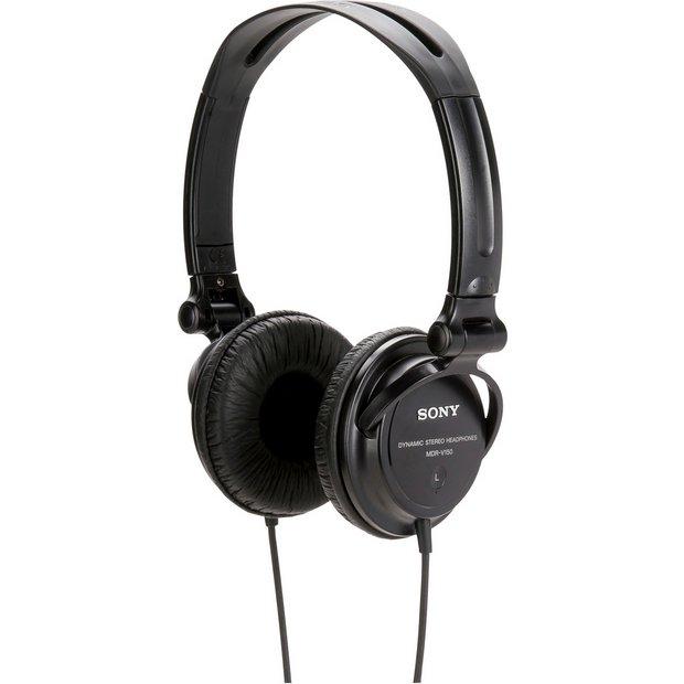 Sony MDRV150 DJ Headphones - Black