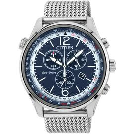 Citizen Eco-Drive Men's Stainless Steel Chronograph Watch