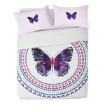 more details on Collection Digital Butterfly Print Bedding Set - Double.