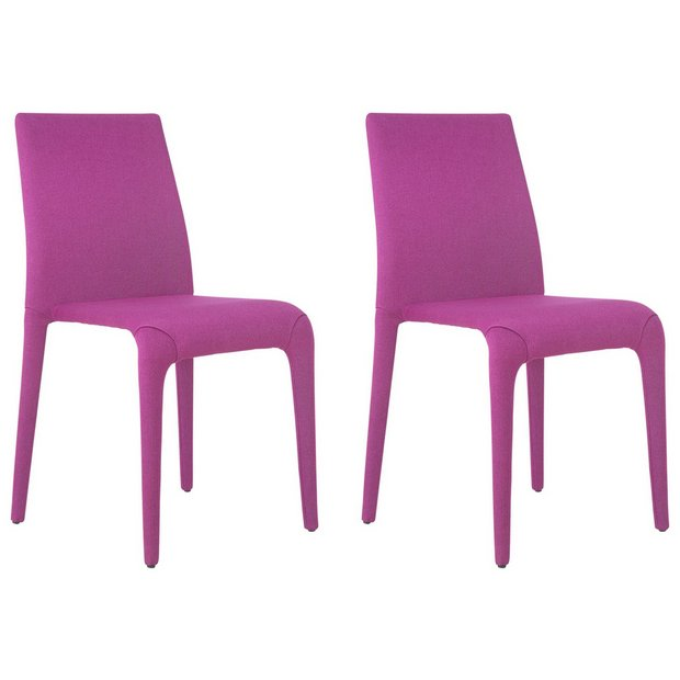 Buy Hygena Otto Pair Of Chairs Pink At