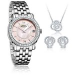 more details on Rotary Ladies' Bracelet Watch and Jewellery Set.