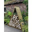 more details on Forest Pinnacle Shiplap Apex Log Store - 5 x 2 ft.