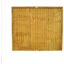 Forest 5ft (1.52m) Closeboard Fence Panel - Pack of 4