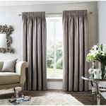 Curtina Rimini Lined Curtains - 168x229cm - Grey