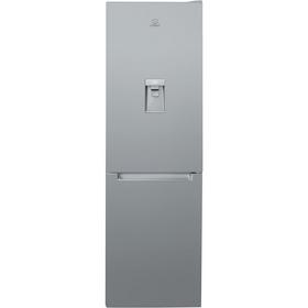 Indesit LR8S1SAQ Fridge Freezer - Silver Best Price, Cheapest Prices