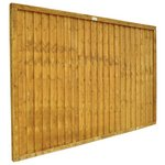 more details on Forest 1.2m Closeboard Fence Panel - Pack of 6.