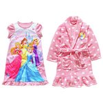 more details on Disney Princess Robe and Nightie Set - 7-8 Years.