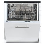 more details on Bush DWINT125W Integrated Full Size Dishwasher - White.