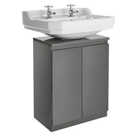 Argos Home Gloss Undersink Storage - Grey