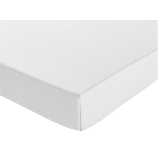 Buy heart of house white extra deep fitted sheet single for Deep house singles