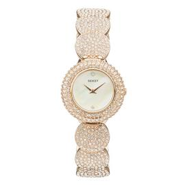 Seksy Ladies' Gold Plated Bracelet Watch