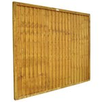 more details on Forest 1.5m Larchlap Closeboard Fence Panel - Pack of 10.