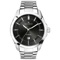 Accurist Men's Black Dial Bracelet Watch