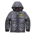 more details on Batman Navy Puffer Coat.