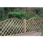 more details on Forest 0.9m Hamburg Screen Fence Panel - Pack of 3.