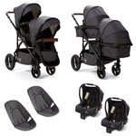 more details on Baby Elegance Cupla Duo Charcoal Twin Travel System.