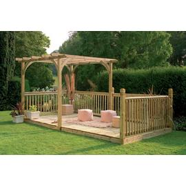Forest Ultima Pergola & Patio Decking Kit