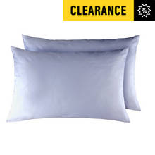 Argos Home Pair of Housewife Pillowcases - White
