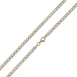 Revere 9ct Yellow Gold Anchor 18 Inch Chain