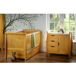 more details on Obaby Stamford 2 Piece Room Set - Country Pine.