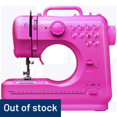 Pink Mini Sewing Machine