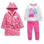 more details on Peppa Pig Robe and Pyjamas Set - 4-5 Years.