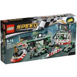 more details on LEGO Speed Champions MERCEDES AMG PETRONAS F1 Team - 75883.