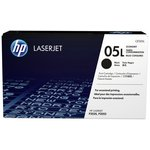 more details on HP 05L Economy Black LaserJet Toner Cartridge (CE505L)