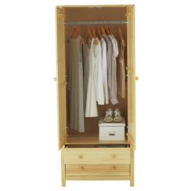 Argos Home Scandinavia 2 Door 2 Drawer Wardrobe