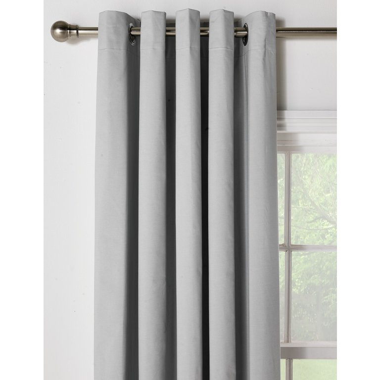Buy HOME Blackout Thermal Curtains - 168x229cm - Dove Grey at Argos.co.uk - Your Online Shop for Curtains, Blinds, curtains and accessories, Home furnishings, Home and garden.