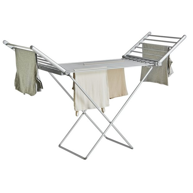 buy home heated electric indoor clothes airer at. Black Bedroom Furniture Sets. Home Design Ideas
